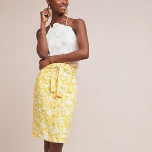 NWOT Anthropologie Conversations Fruit Skirt 4
